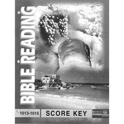 Bible Reading Key 1013-1015