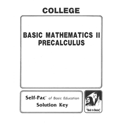 College Math Solution Key 16-20