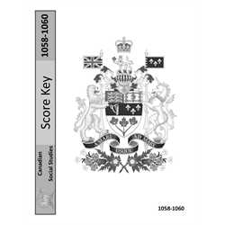 Social Studies Key 1058-1060 Canadian