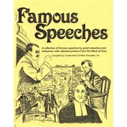Famous Speeches