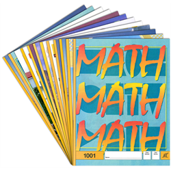 Latest Edition Math Pace Kit - # 1001-1012