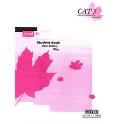 CAT 3 Test Booklet 15