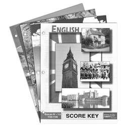 <>English Key Kit 1133-1144