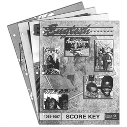 <>English Key Kit 1085-1096