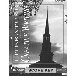 Creative Writing Key 1013-1015