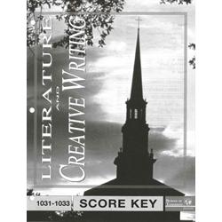 Creative Writing Key 1031-1033