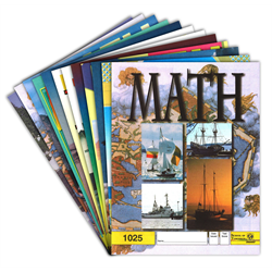 Latest Edition Math Pace Kit - # 1025-1036
