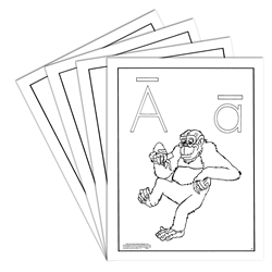 ABCs Coloring Sheets (Package of 45)