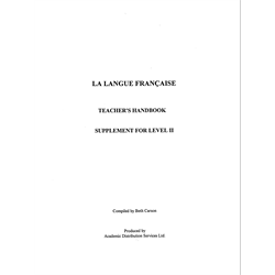 FRENCH PROGRAM Teachers Manual II